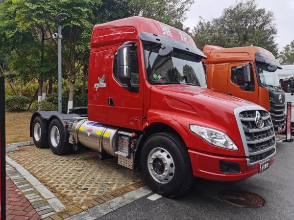 国际比赛显身手,乘龙T7智慧物流牵引车将参加2021世界智能驾驶挑战赛