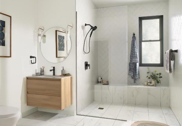 轻松get美观舒适卫浴空间 尽在摩恩卫浴