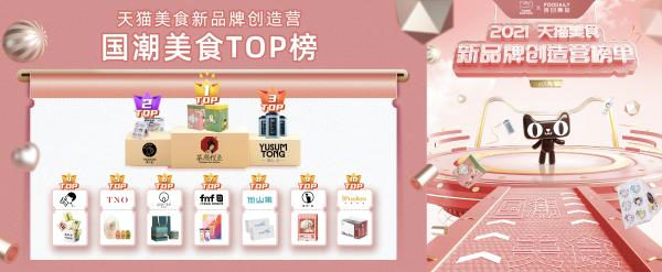 """国潮美食C位出道 中国茶包""""他山集""""冲上天猫多个榜单"""