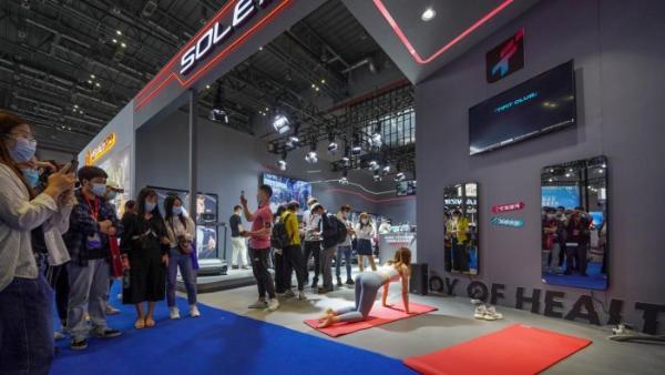 引领风潮|尚体兽鸟携智能新品亮相2021年体博会