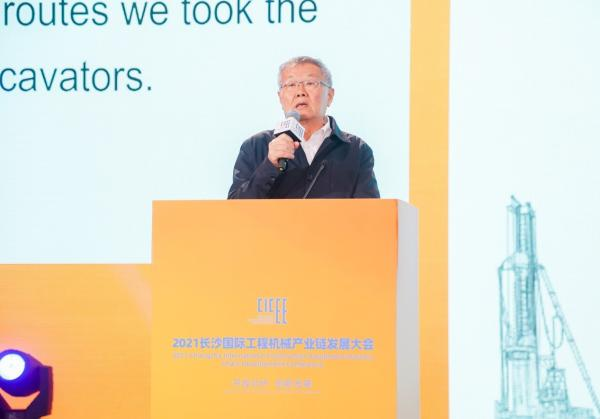"""何清华出席长沙国际工程机械产业链发展峰会,走""""双循环""""道路关键在于""""要做好自己的事情"""""""
