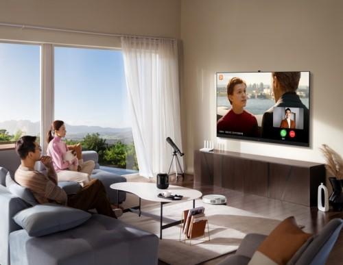 畅连美好!新一代华为智慧屏V系列让沟通更生动、更有趣