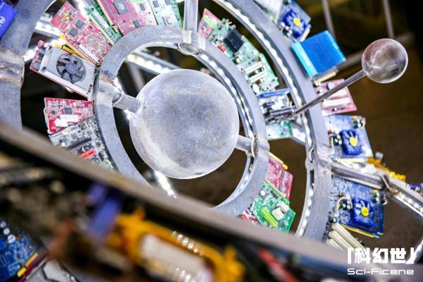 """创新科幻 智享未来:北京科技周""""科幻世""""科技艺术概念展在京举办"""