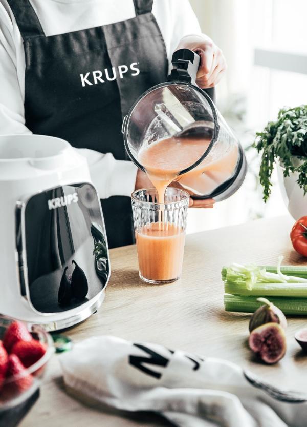 KRUPS克鲁伯低音真空破壁机,花样辅食助力宝宝健康成长