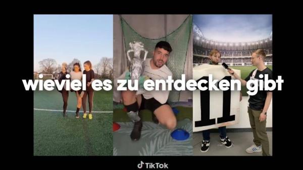 TikTok在2020欧洲杯赞助活动中首次加入了的欧洲杯时刻