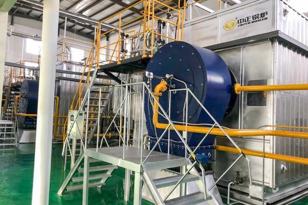 中正燃气锅炉为乳品加工助力 成为庆阳伟赫乳制品高质量发展的动力源