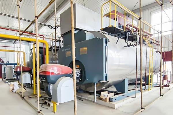 中正燃气锅炉助力乳品加工成为庆阳渭河优质乳制品发展的动力源