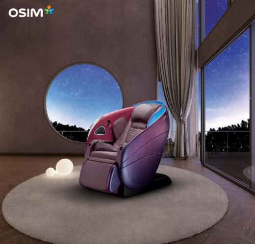 夏日午后 在OSIM健康椅上迎接你向往的生活