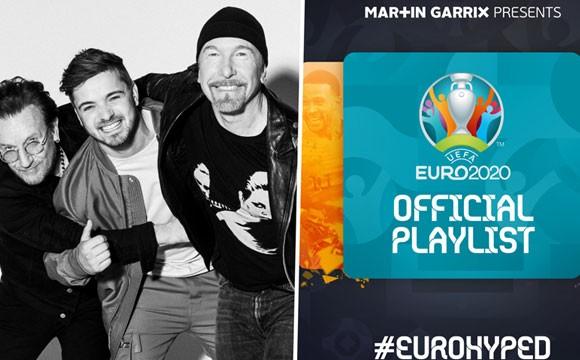欧洲杯官方歌曲上线,主流媒体均有上线