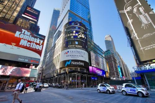 天逸金融服务集团强势登陆纳斯达克大屏 持续发力国际金融服务