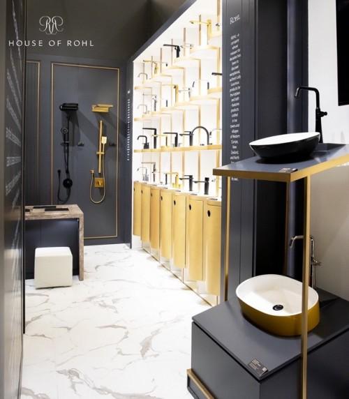 2021中国国际厨卫展沪上开幕, 奢华卫浴HOUSE OF ROHL携新品首次惊艳亮相