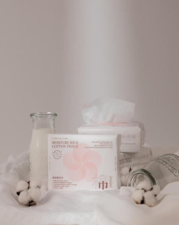 ch22婴儿保湿棉柔巾 —— 花瓣巾 触感柔润加倍,呵护宝宝娇嫩肌肤