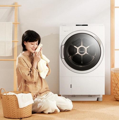洗烘杀菌样样精通,东芝X9热泵洗烘一体机上市开卖