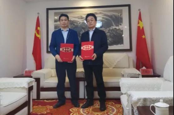 中国食品安全网谭国太主编莅临淘酒侠考察指导 并签署战略合作