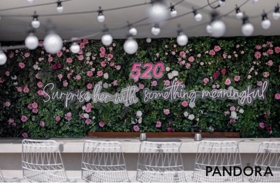 爱意时刻 你的专属惊喜 Pandora潘多拉珠宝爱意呈现520系列