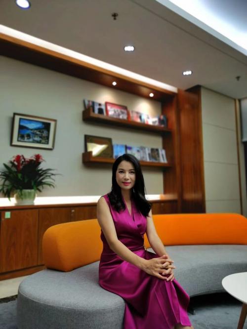麦超萍专访:简爱格妮斯不仅是一个品牌 更是一个平台