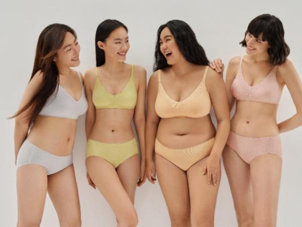 做自己,不设限,全棉时代女士无侧缝文胸新品上市