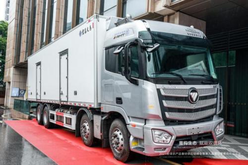 科技赋能 助力高效 欧曼绿通运输一体化解决方案正式发布