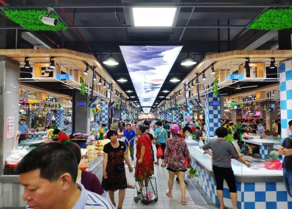 树立农贸标杆,提升城市品质!北海菜丁·文明市场盛大开业!