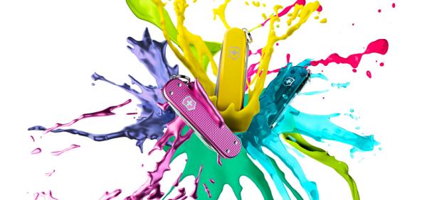 Victorinox 维氏推出焕新、时尚、多彩的典范缤纷系列 为你的生活增添一抹色彩