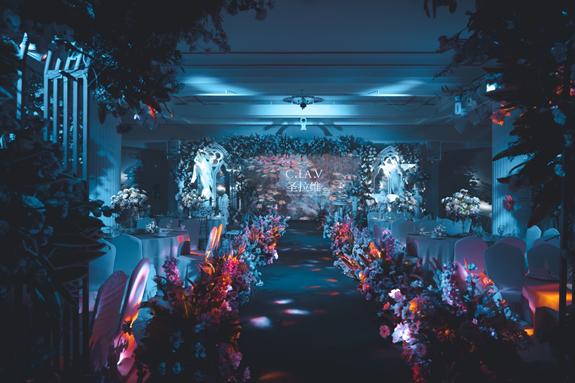 圣拉维高端婚礼会所,缔造优雅婚礼盛宴!
