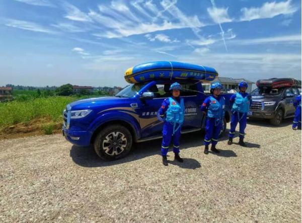 有责任 有温度 有担当 细数长城炮蓝天救援机动队的公益之路