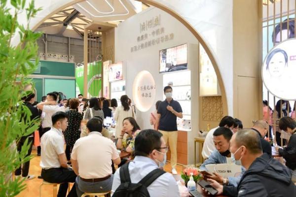 片仔癀化妆品C位入驻上海美博会,助燃国风热