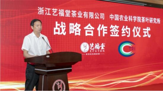 艺福堂&中茶所战略合作:强强联合打造龙井茶产业新标杆