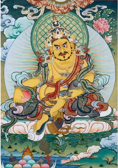 推动传统唐卡艺术焕新,民族国潮的艺术实践者:完德卡