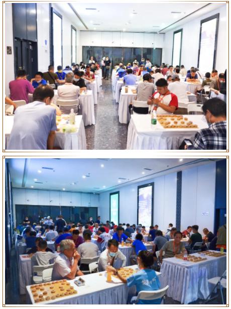 """第四届""""大堡山杯""""象棋公开赛第三站晋级赛圆满落幕!"""