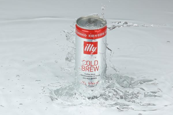 illy意利咖啡推出全新即饮冷萃咖啡饮料 随时随地,清爽解暑