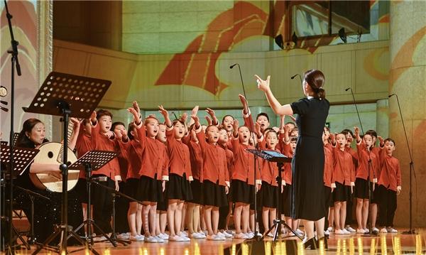 11省市乡村儿童进京举办六一儿童专场音乐会