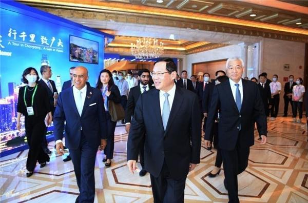 2020迪拜世博会携手特斯联科技集团亮相浦江论坛,重磅推介创新科技