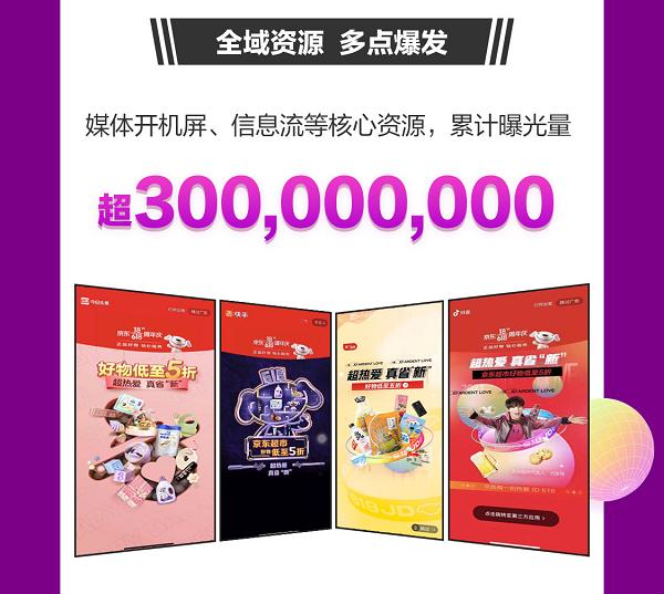 京东618超市主推日销售亮眼:洗脸巾、留香珠成交额同比增长均超10倍