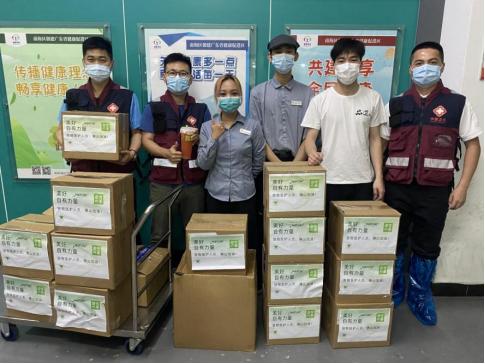 为抗疫工作者、儿童之家送去4000份端午爱心粽 奈雪有心了