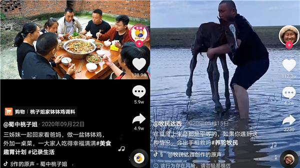 抖音发布首份三农数据报告,农村生活和美食内容最受欢迎