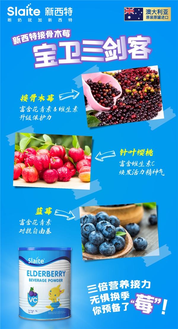 换季感冒季,多备新西特三合一接骨木莓