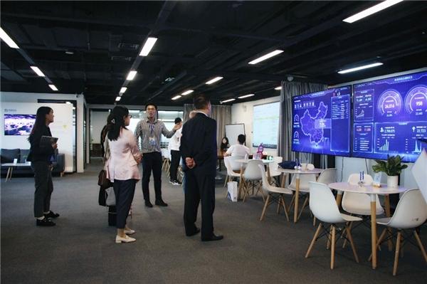 捷园宝激发园区新活力,10多家政府园区领导参观普道科技