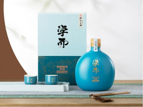"""孔府家""""学而酒""""6月8日开售,新中式设计突破白酒美学境界"""