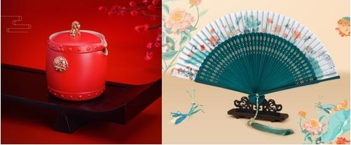 兵马俑盲盒、紫禁城折扇、吾皇IP款胸章……京东618非遗文创品牌花样上新