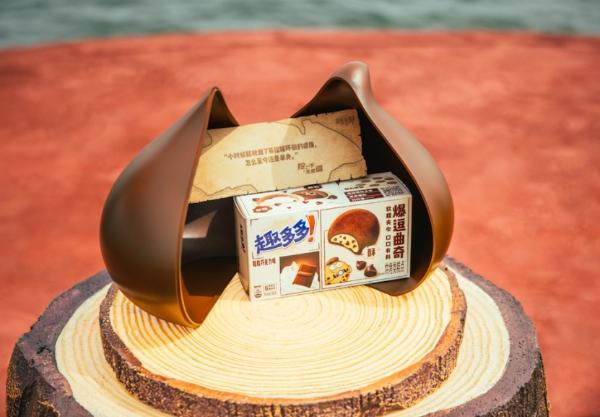 海上惊现巨型饼干 何广智海上脱口秀爆新梗