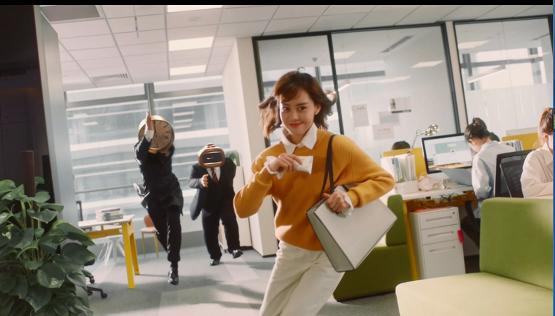 永和豆浆创意短片《女孩,冲啊!》,为她时代加油!