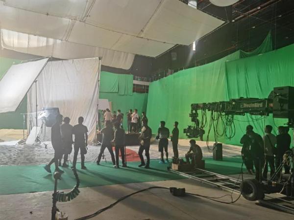 荣耀Honor50系列宣传片拍摄现场图流出