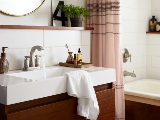 层层细节 摩恩浴室柜打造舒适卫浴生活