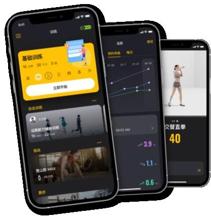 RaceFit易起动AI健身教练,随时随地开启您的运动健康生活
