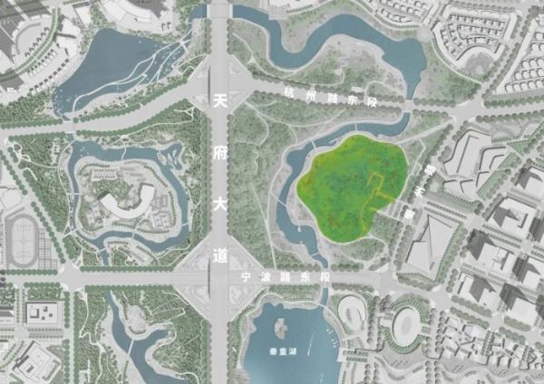 A8竞赛 | 欧宁 X A8:这片55,000平的大草坪需要设计师看过来!