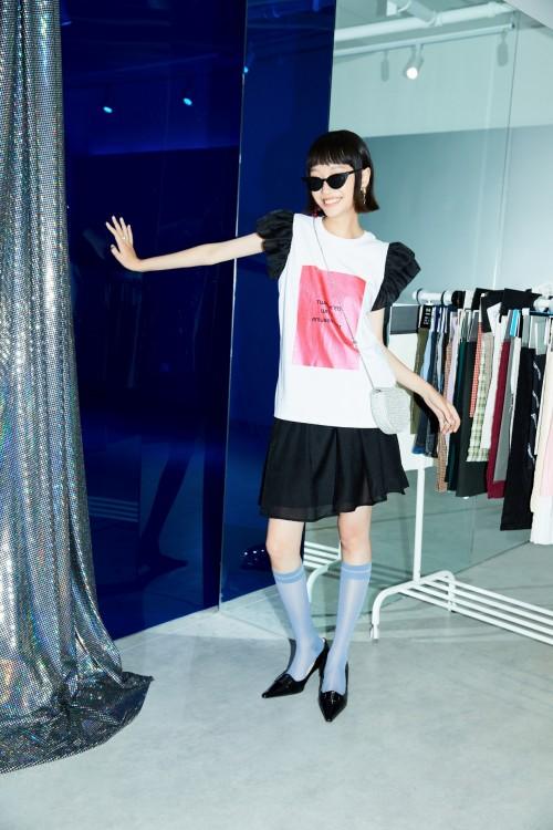 韩都衣舍设计师系列<非常日派对>   打造轻复古摩登限定夏日穿搭