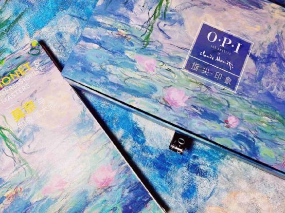 OPI携手莫奈展跨界合作《指尖·印象》