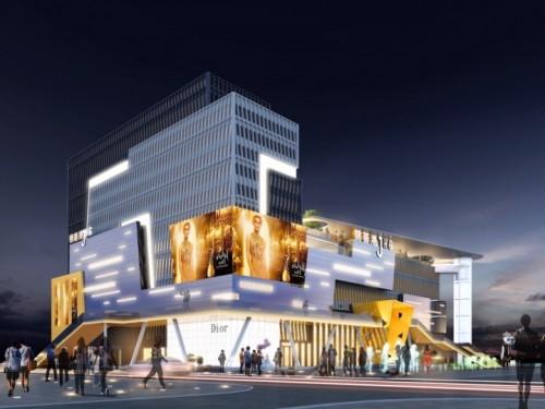 锦荟港商业中心入市,希尔顿欢朋酒店进驻!