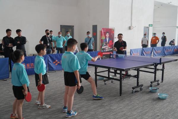 示范引领促发展,星轨乒乓全面推进我国体育教育专业化发展